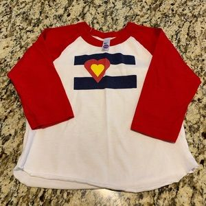 Other - Girls Colorado tee. Excellent condition